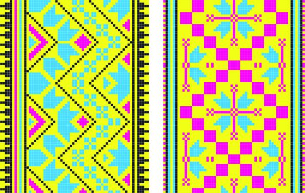 free vector Pixel pattern 02 vector