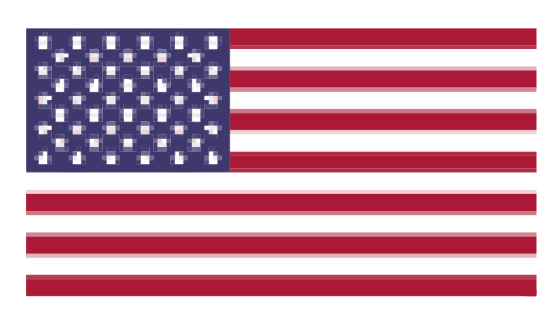 free vector Pixelated Flag