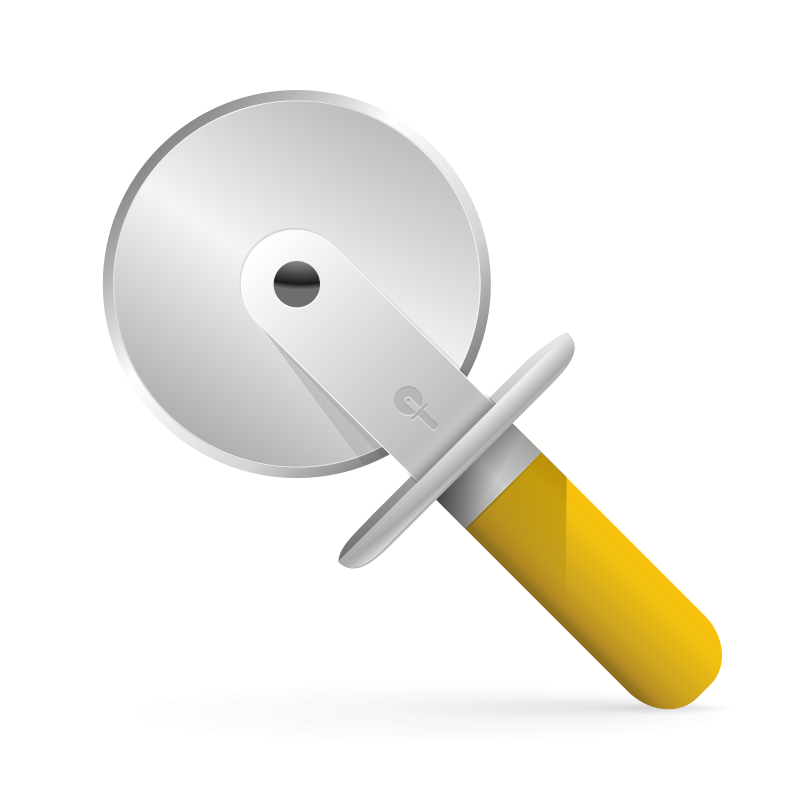 free vector Pizza cutter icon