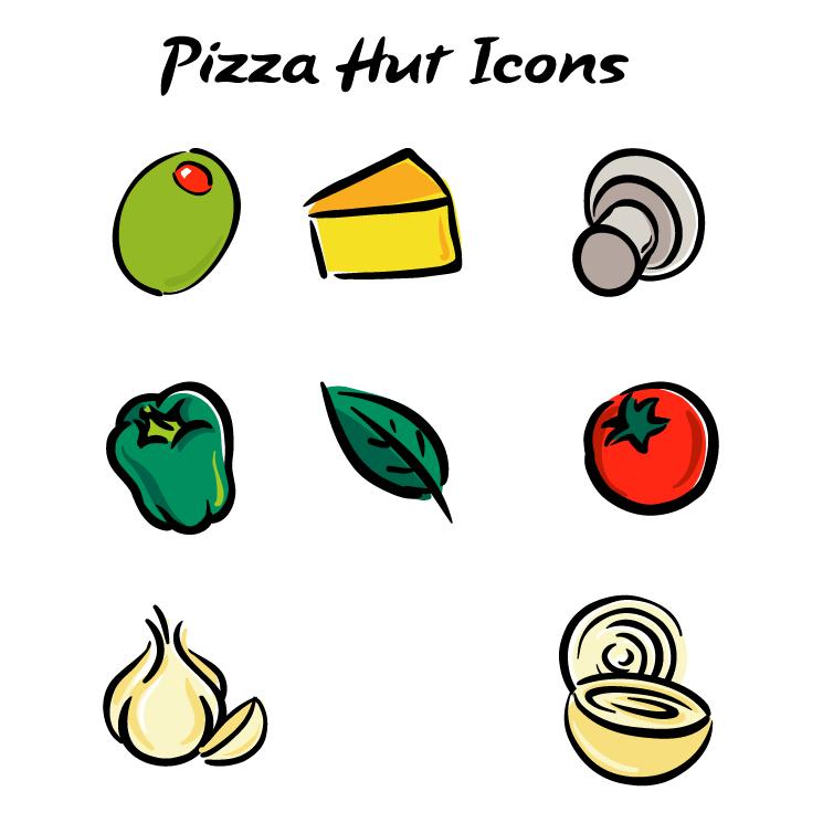 free vector Pizza hut 3