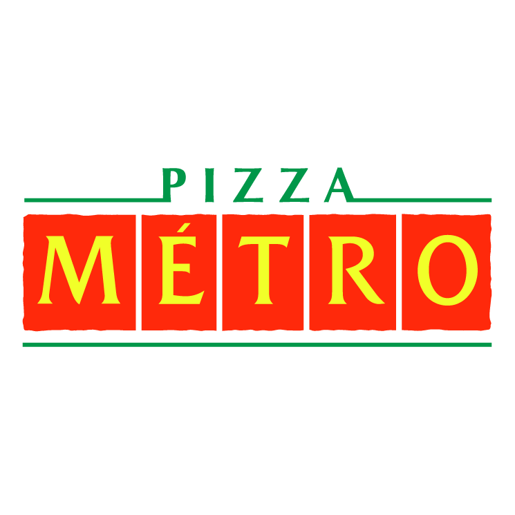 free vector Pizza metro