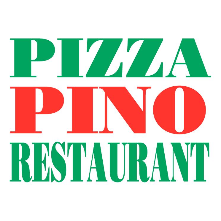 Pizza pino restaurant Free Vector / 4Vector | {Pino logo 43}