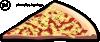 free vector Pizza Slice clip art 113184