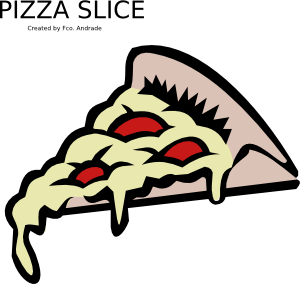 free vector Pizza Slice clip art