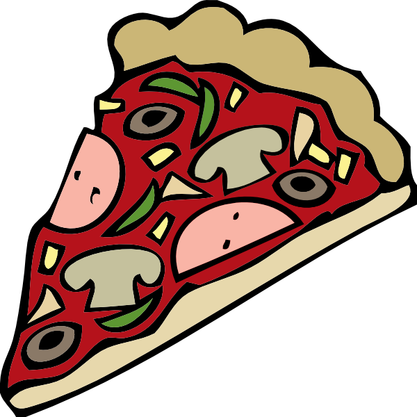 free vector Pizza Slice clip art