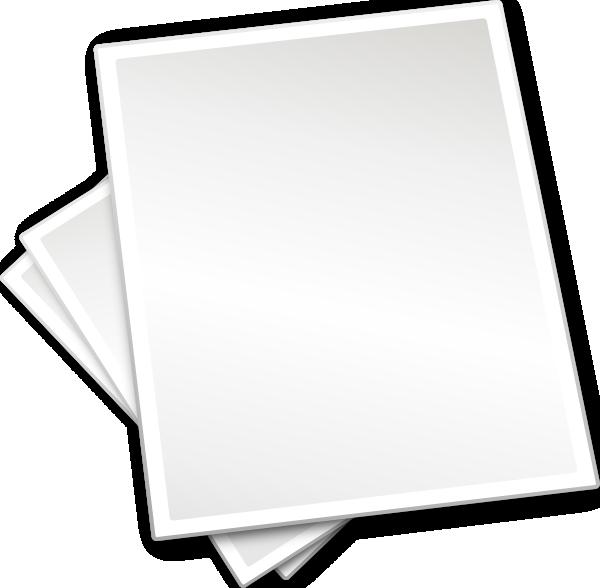 Number Names Worksheets free printing sheets : Plain Printing Paper Sheets clip art Free Vector / 4Vector