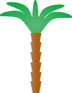 free vector Plam Tree clip art