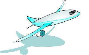 free vector Plane Taking Off clip art