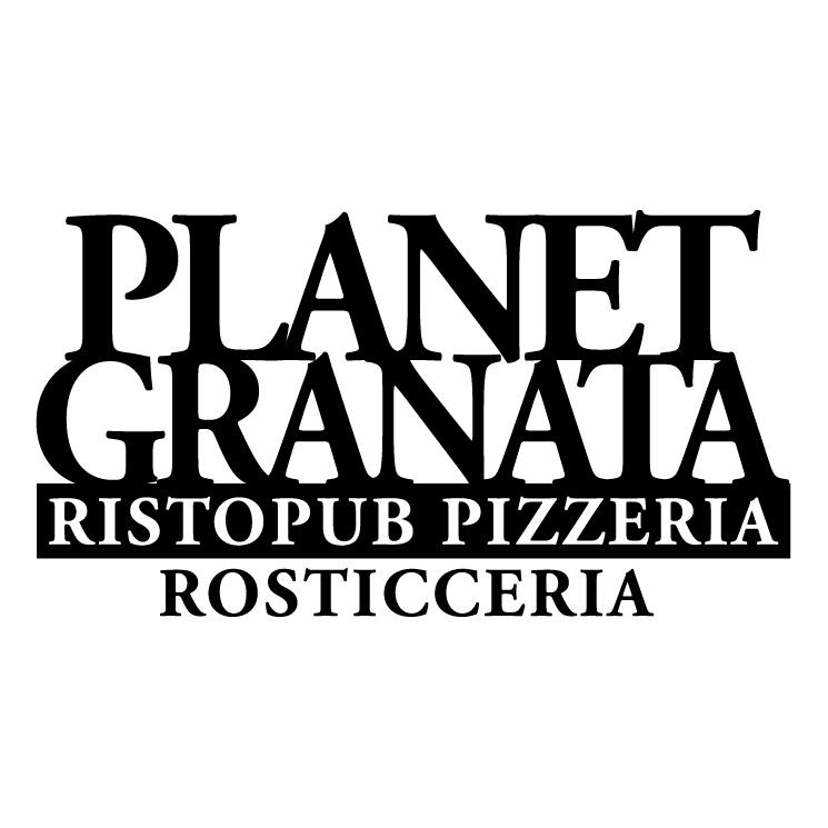 free vector Planet granata