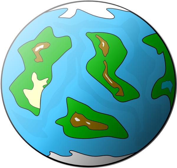 free vector Planet Symbol Globe clip art