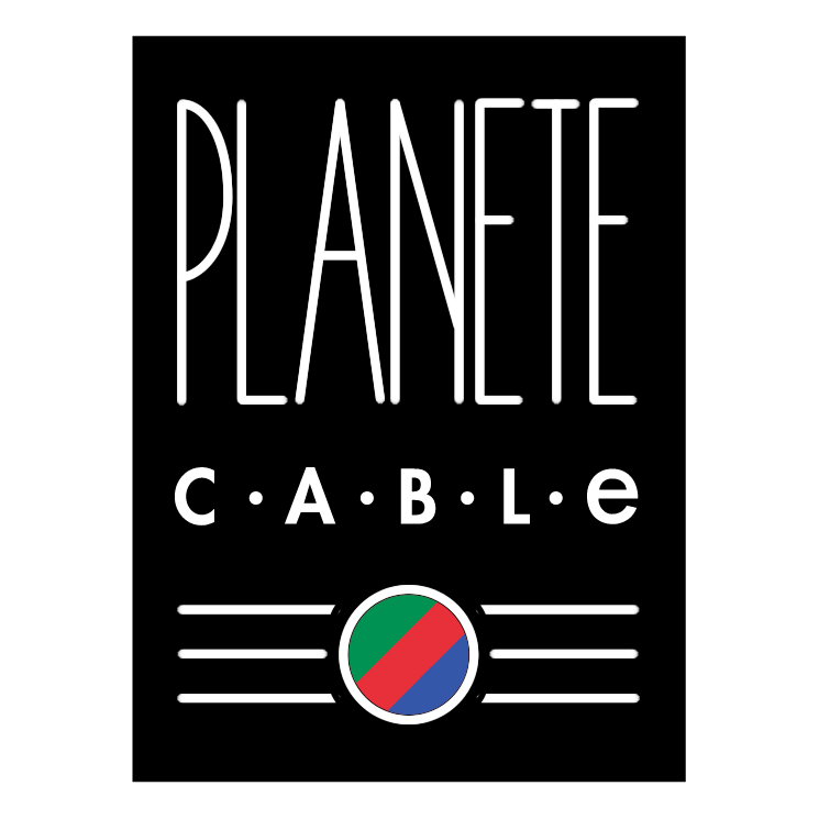 free vector Planete cable