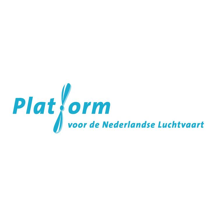 free vector Platform voor de nederlandse luchtvaart