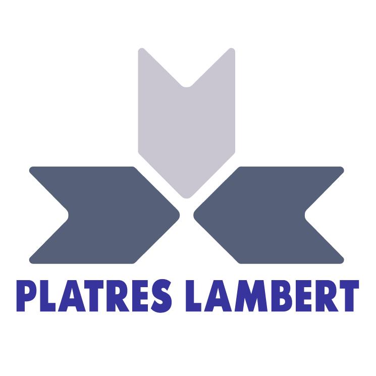 free vector Platres lambert 1
