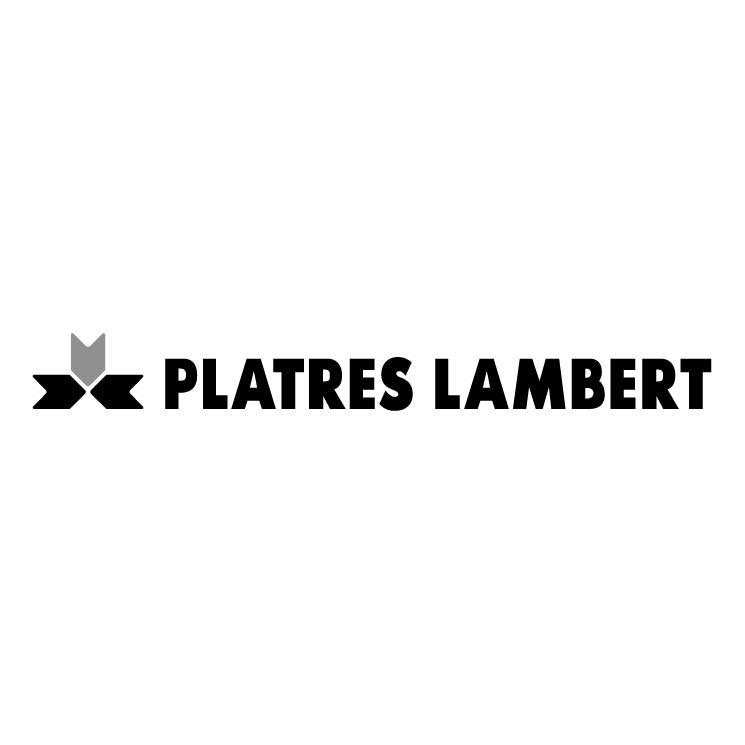 free vector Platres lambert