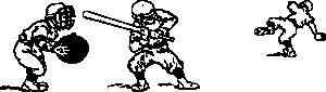 free vector Play Base Ball clip art
