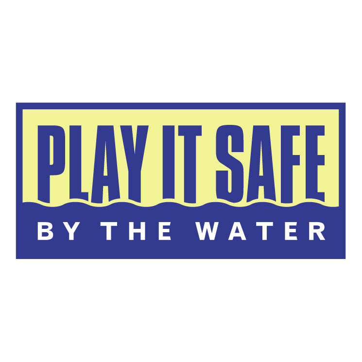 free vector Play it safe by the water