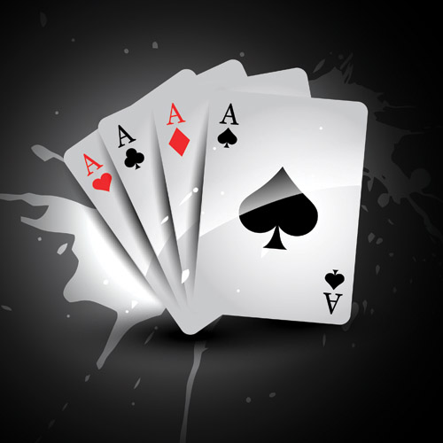 Playing Cards And Dice Vector Free Vector 4vector