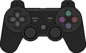 free vector Playstation Gamepad clip art