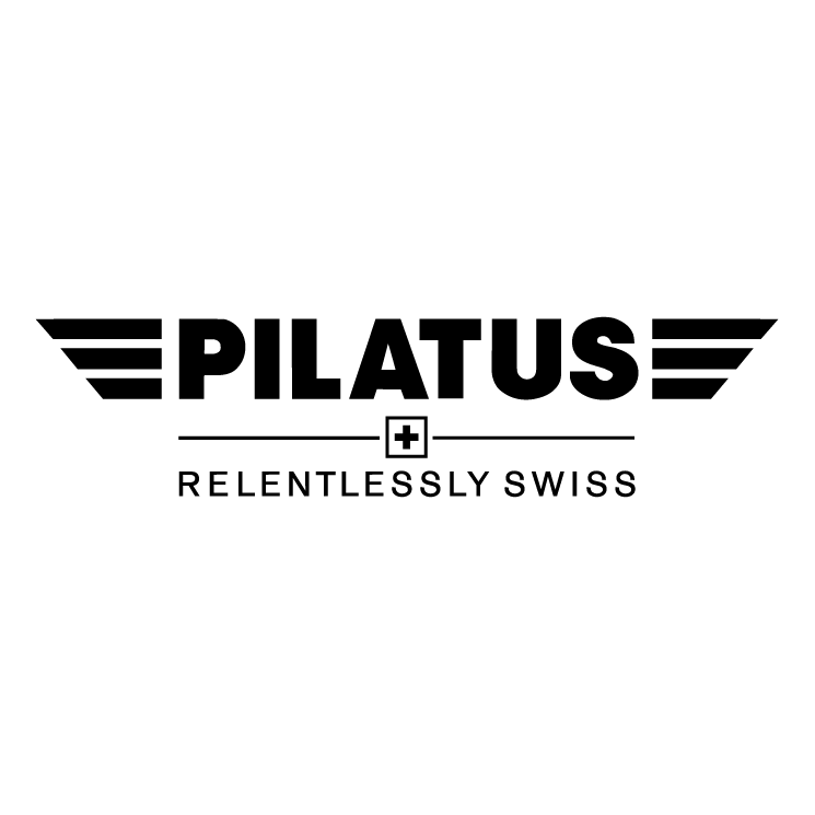 free vector Pliatus aircraft
