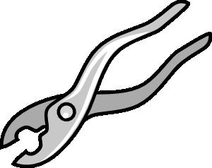 free vector Pliers clip art