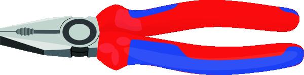 free vector Pliers Tools Hardware clip art