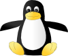 free vector Plush Tux clip art
