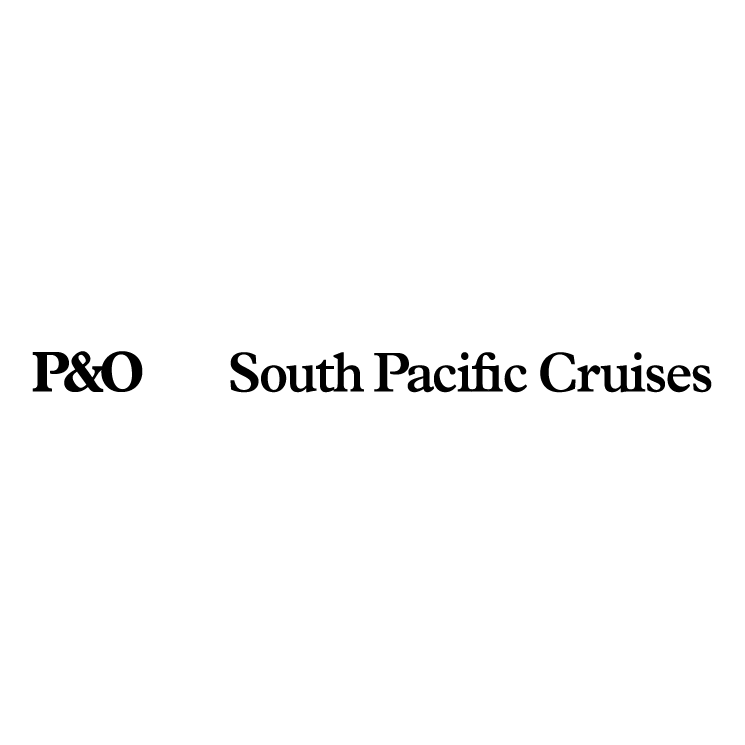 free vector Po south pacific cruises