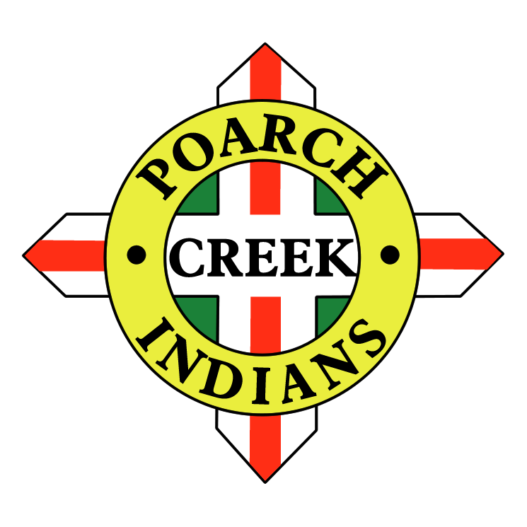 free vector Poarch creek indians