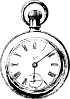 free vector Pocket Watch clip art