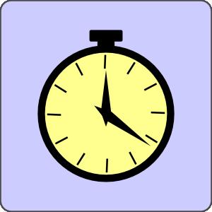 free vector Pocket Watch Icon clip art