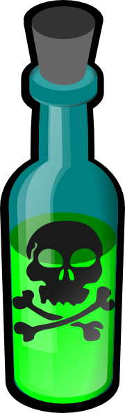 free vector Poison Bottle clip art