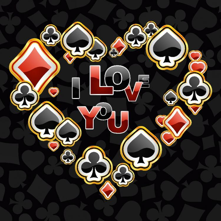 free vector Poker theme vector graphic