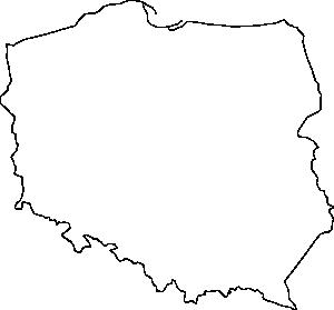 free vector Poland Contour clip art