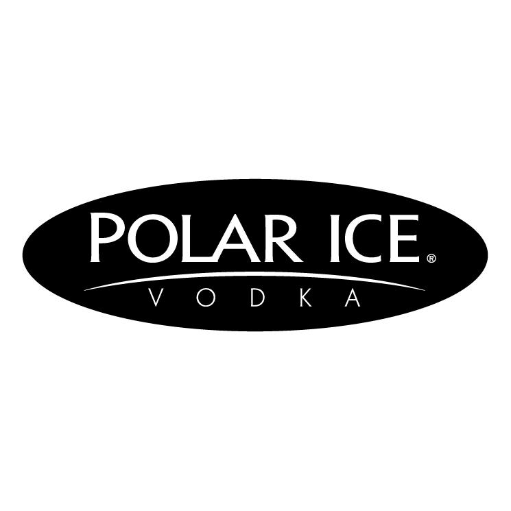 free vector Polar ice vodka