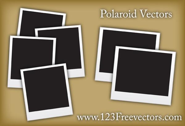 free vector Polaroid Vectors