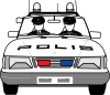 free vector Police Car clip art