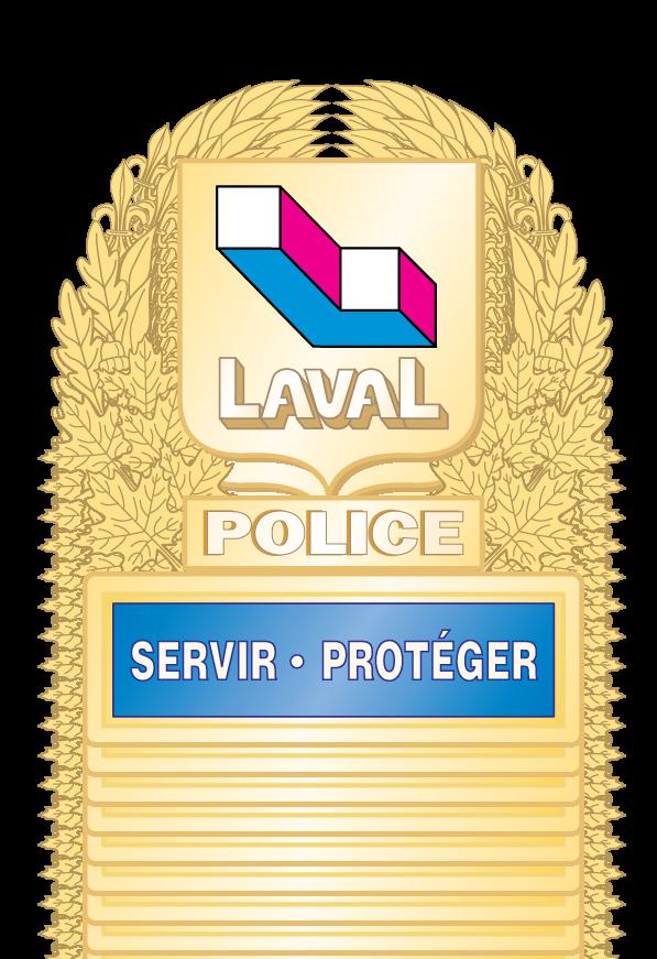 free vector Police Laval logo2