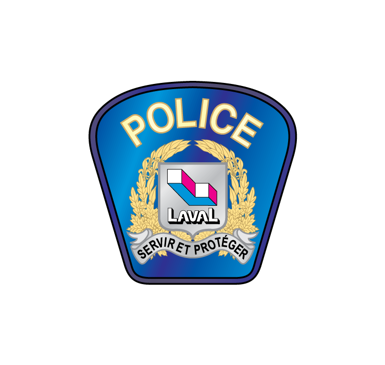 free vector Police Laval logo