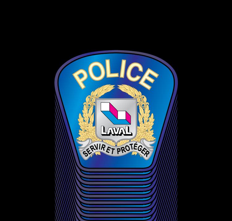 free vector Police Laval logo