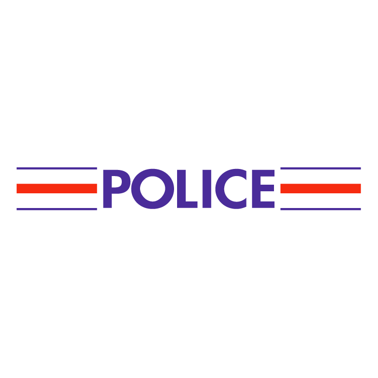 free vector Police nationale francaise