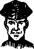 free vector Policeman Head clip art