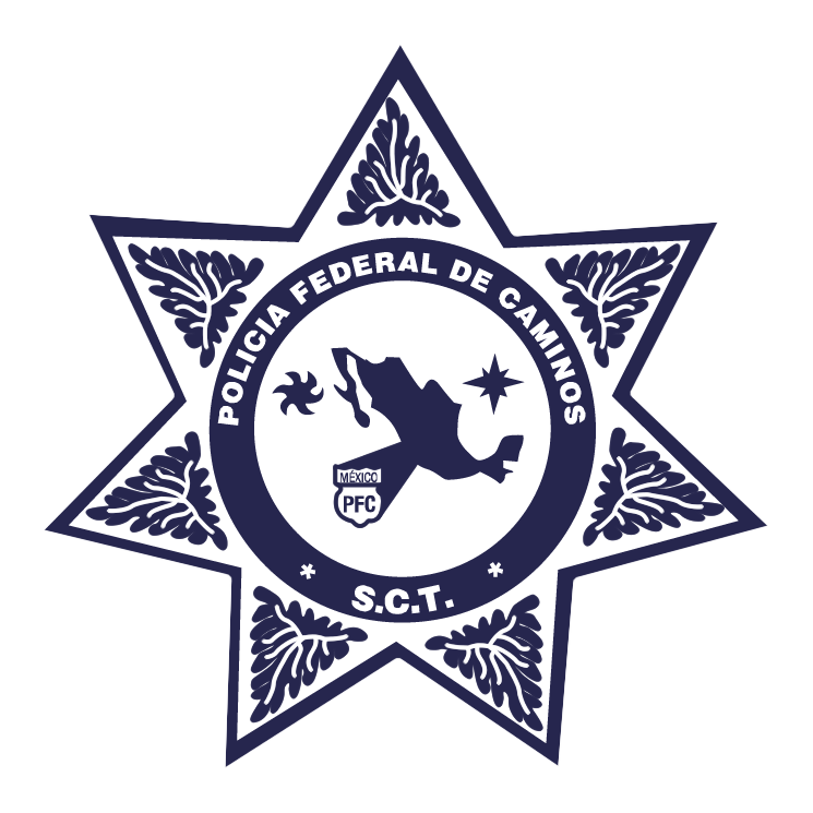 free vector Policia federal de caminos mexico
