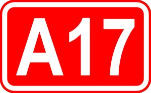 free vector Polish Highway Sign clip art
