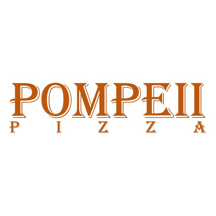 free vector Pompeii pizza