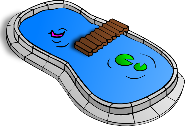 free clipart fish pond - photo #18