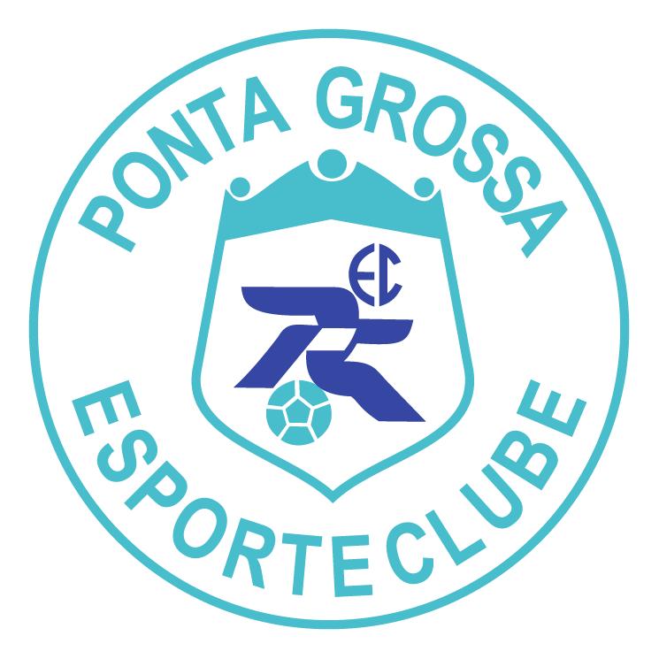 free vector Ponta grossa esporte clube de ponta grossa pr