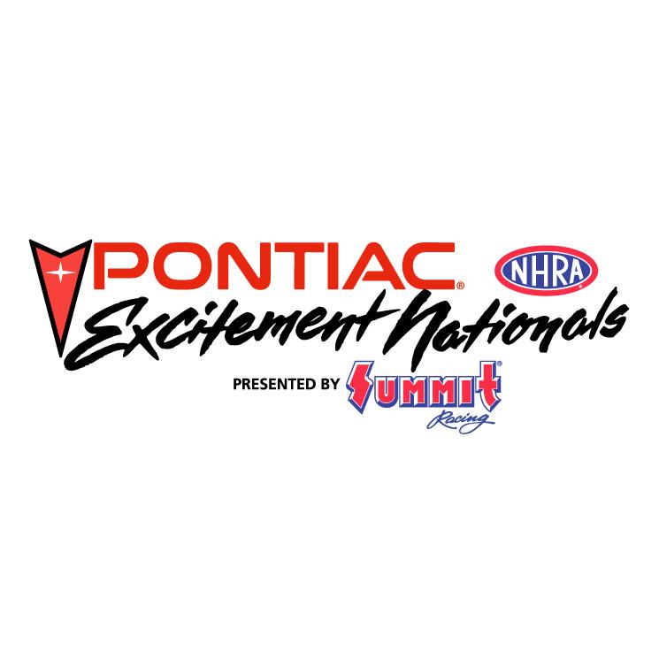 free vector Pontiac excitement nationals