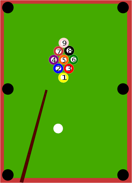 ... Free Vector Pool Table Clip Art
