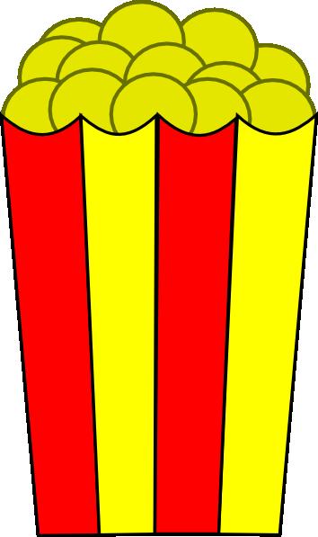 free vector Popcorn clip art