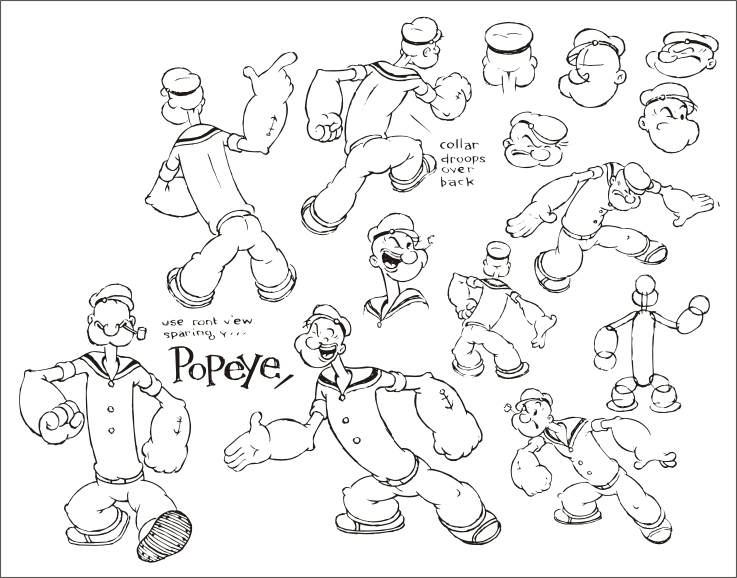 free vector Popeye official who set up vector b